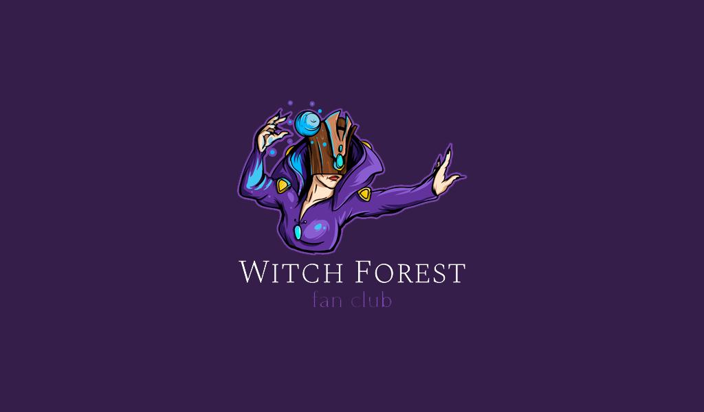 Игровой логотип волшебница