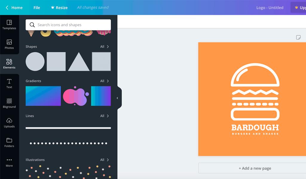 Canva Logo Maker сделать логотип