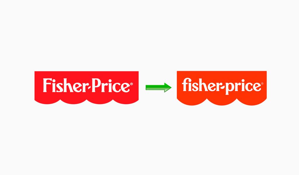 Новый лого Fisher-Price
