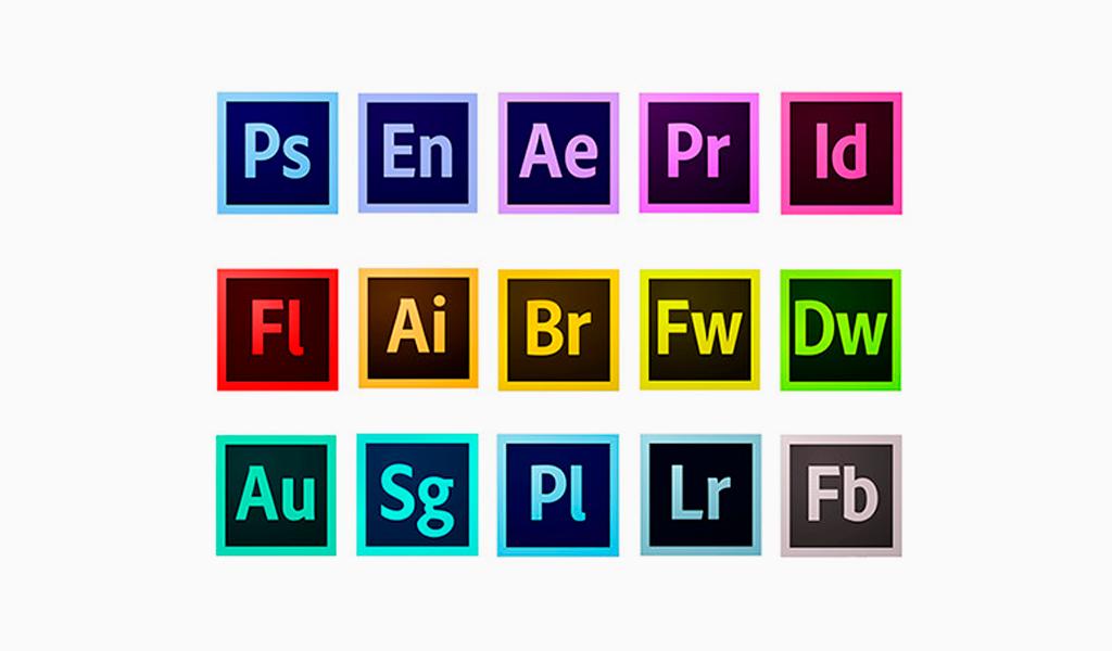 Логотипы Приложений Adobe
