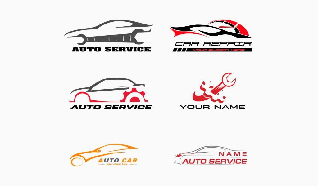 Цвета логотипа автосервиса