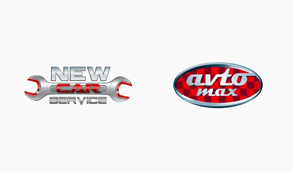 Логотипы автосервиса: сталь