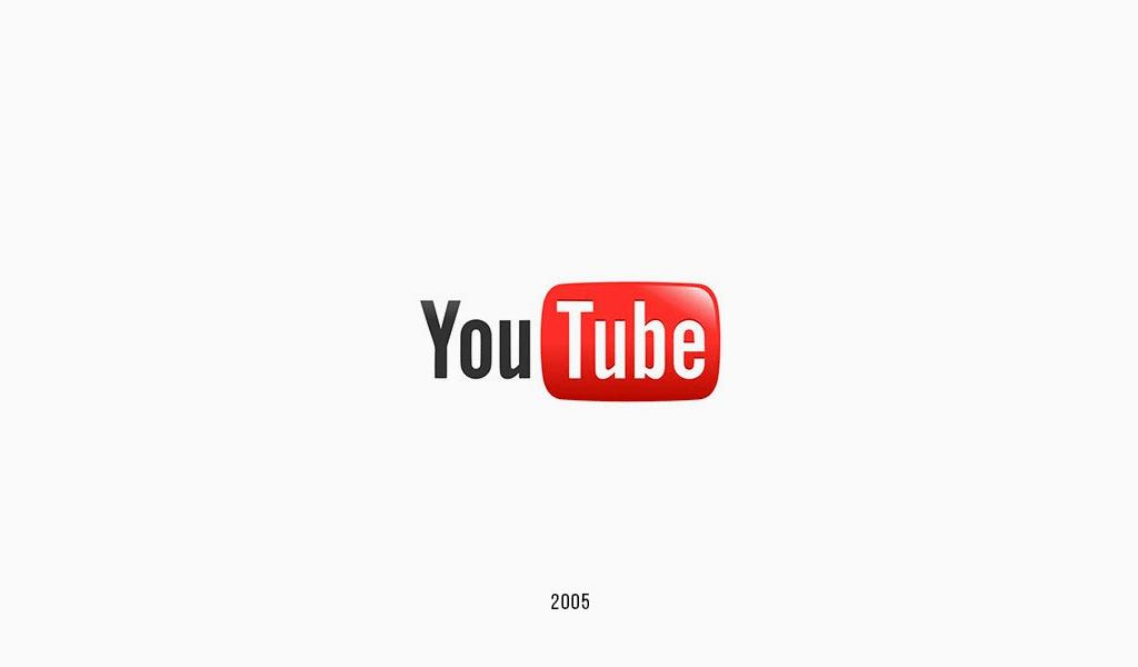 Логотип YouTube 2005: первый