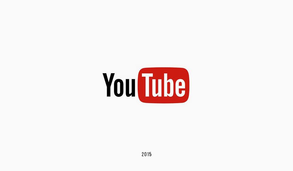 Логотип YouTube 2015