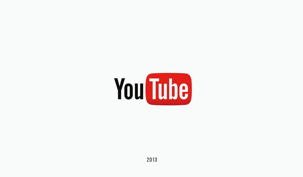 Логотип YouTube 2013