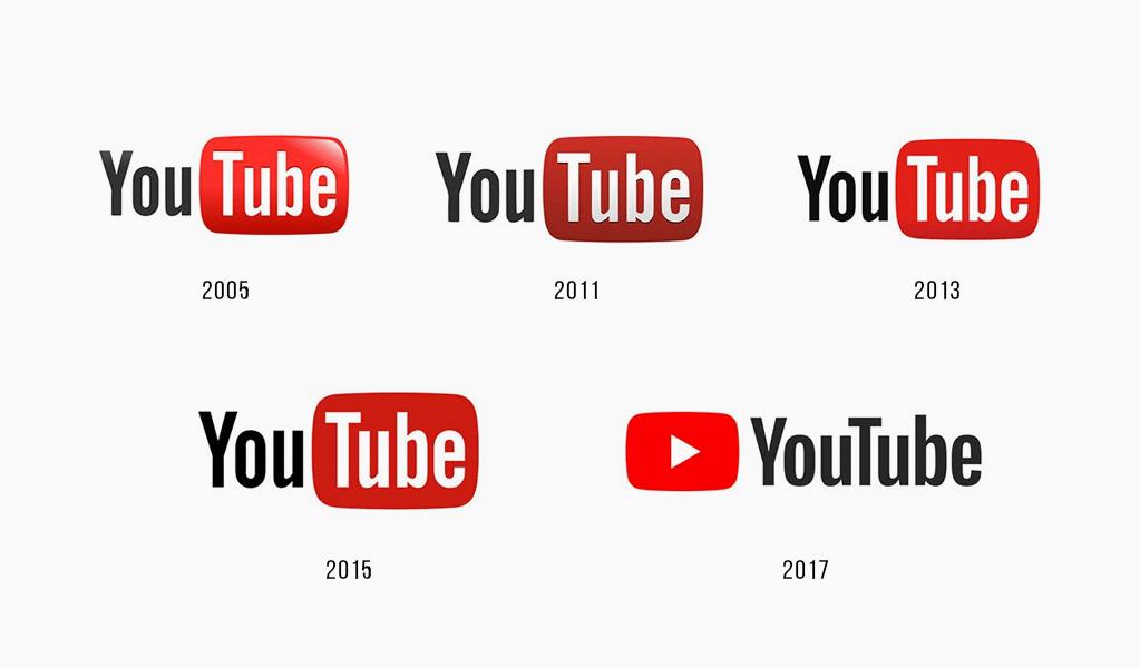 История логотипа YouTube