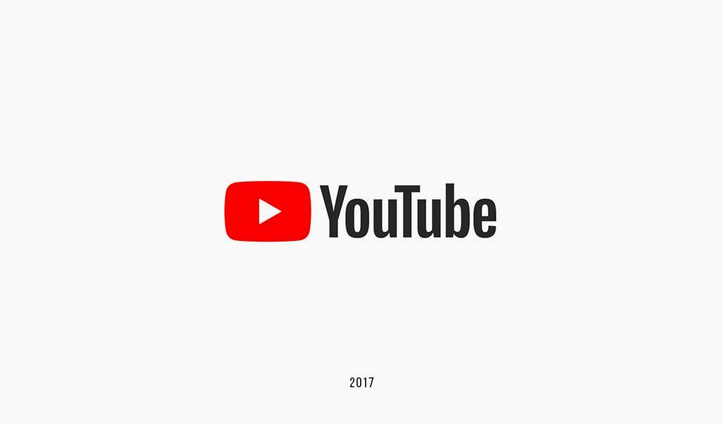 Логотип YouTube 2017: новый