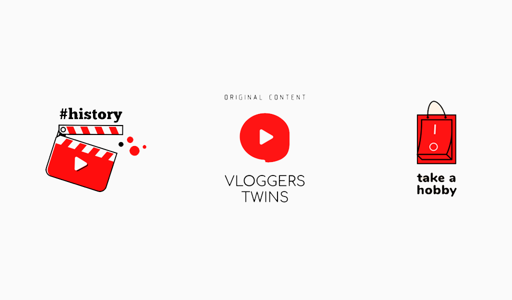 Логотип канала YouTube: примеры