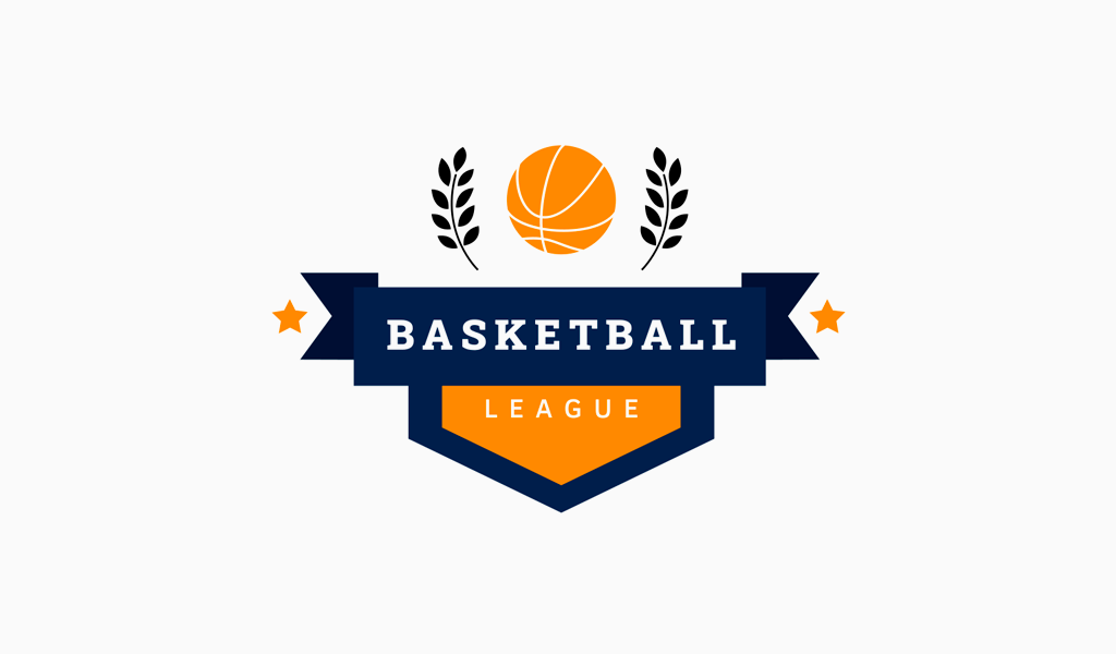 Логотип баскетбольного клуба: мяч