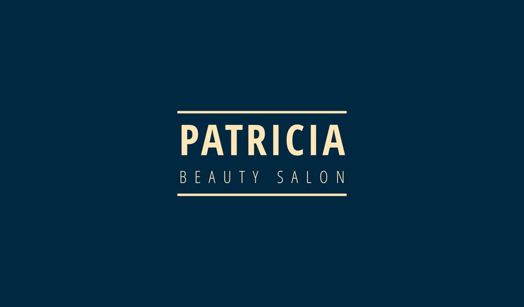 Логотип салона красоты надпись