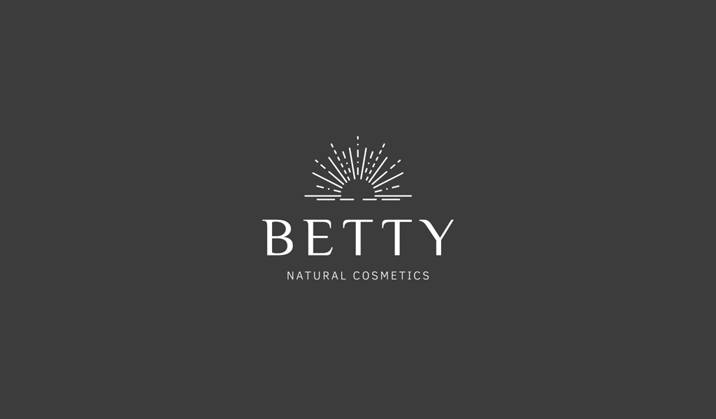 Логотип салона красоты: солнечные лучи