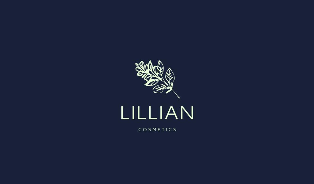 логотип салона красоты: ботанический