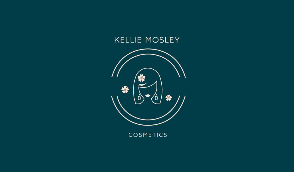 Логотип салона красоты: лицо женщины