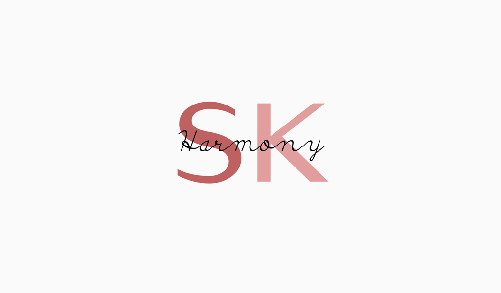 Логотип салона красоты: монограмма S&K