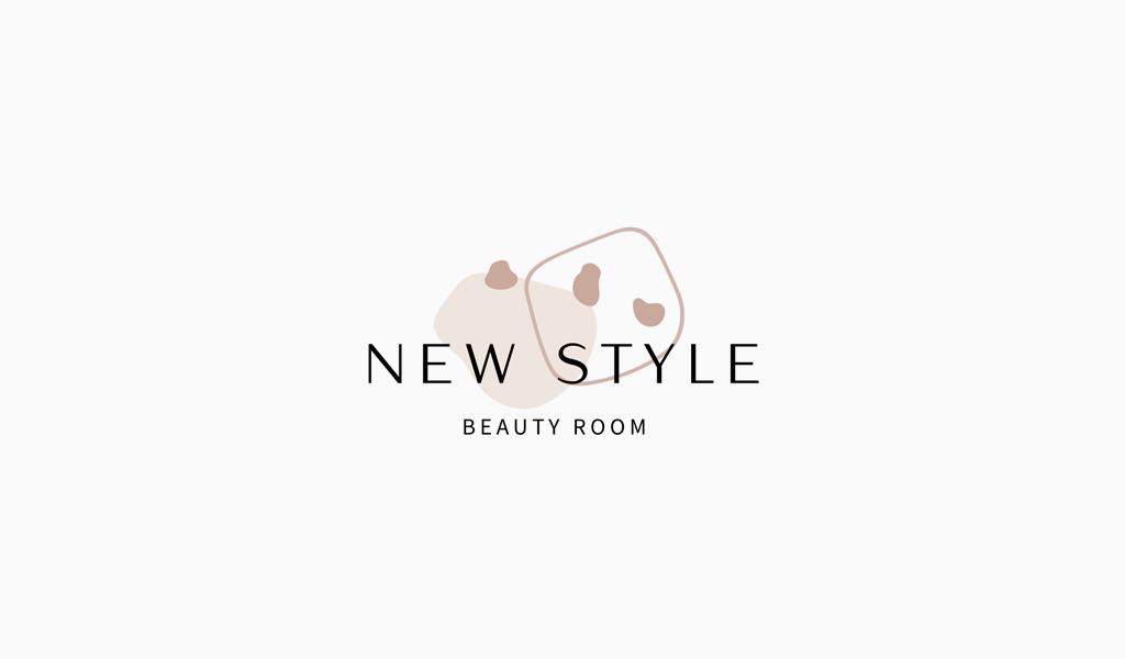Декоративный логотип салона красоты