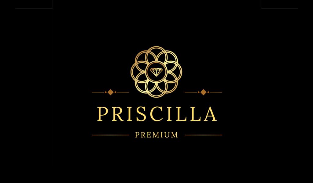 Лакшери Логотип салона красоты: алмаз