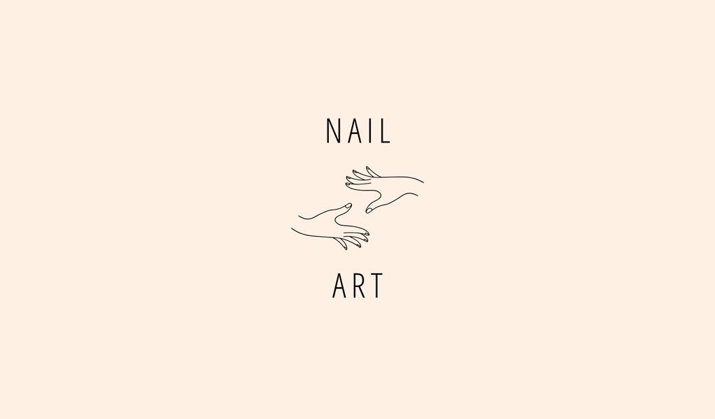 Логотип маникюрного салона: руки