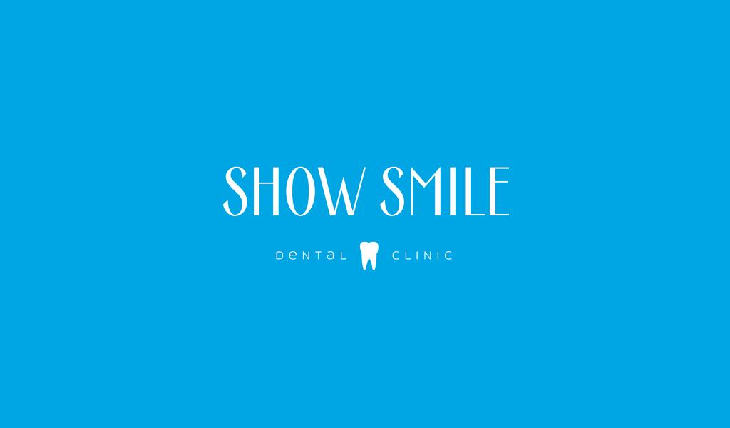 Логотип стоматологической клиники: текстовый