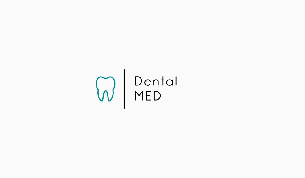 Логотип стоматологической клиники: минимализм