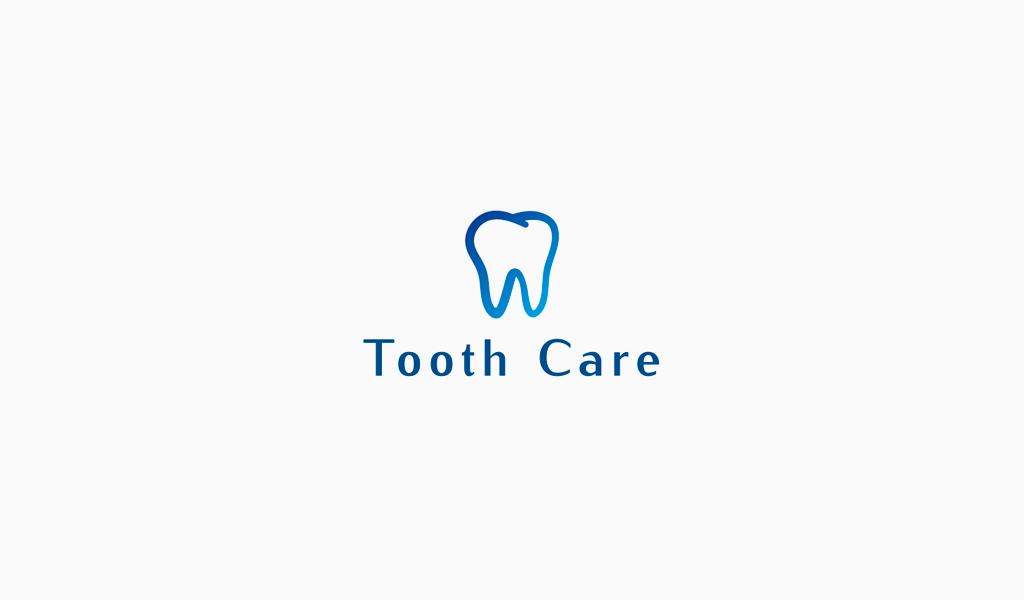 Логотип стоматологии: зуб