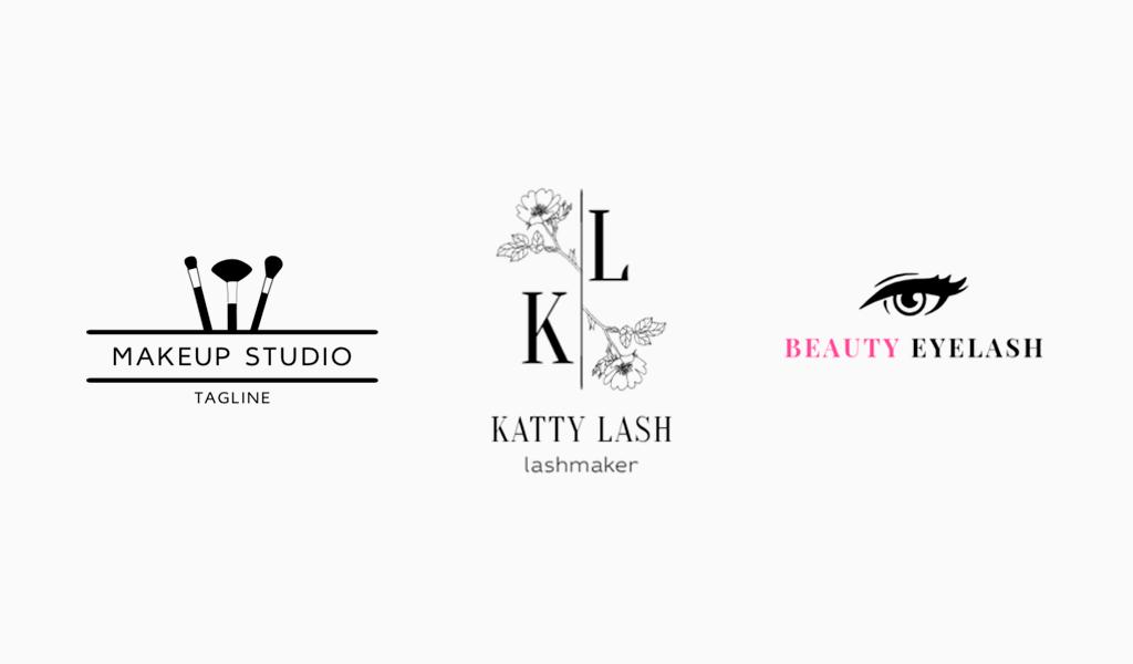 Примеры логотипов салона красоты Турболого