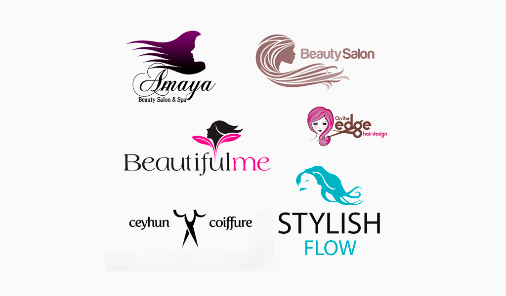 Примеры логотипов салона красоты