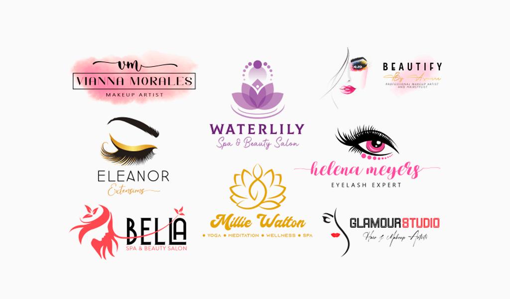 Логотипы студии красоты