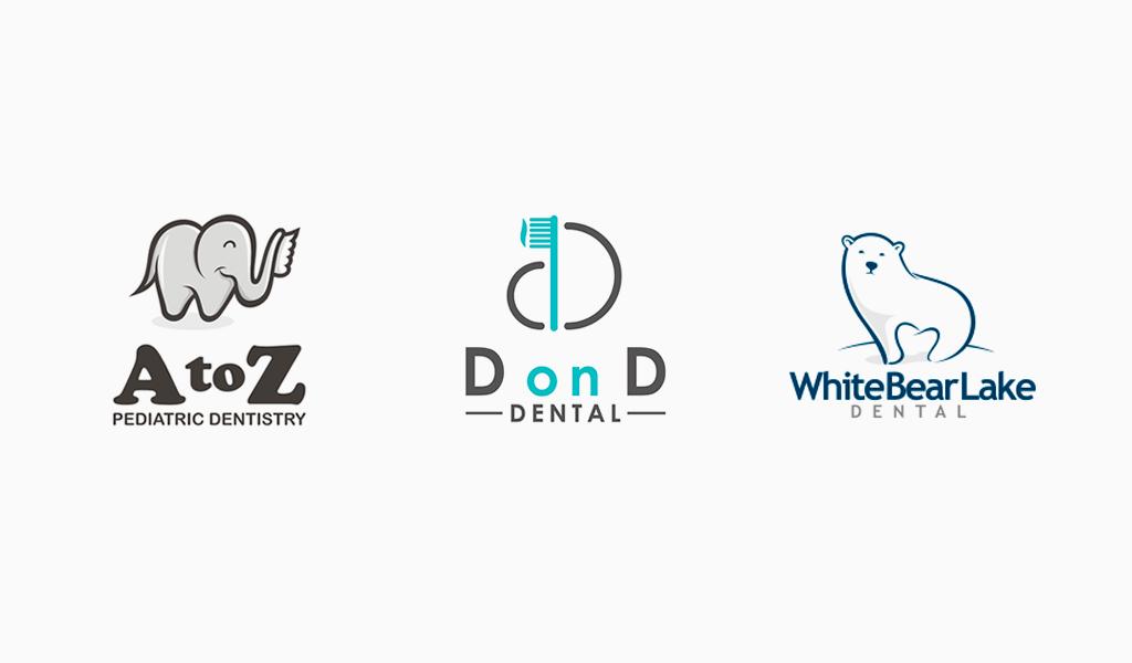 Креативные логотипы стоматологии