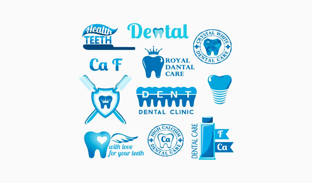 Логотипы стоматологической клиники