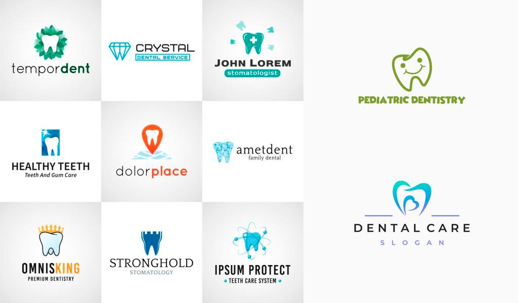 Логотипы стоматологии: примеры