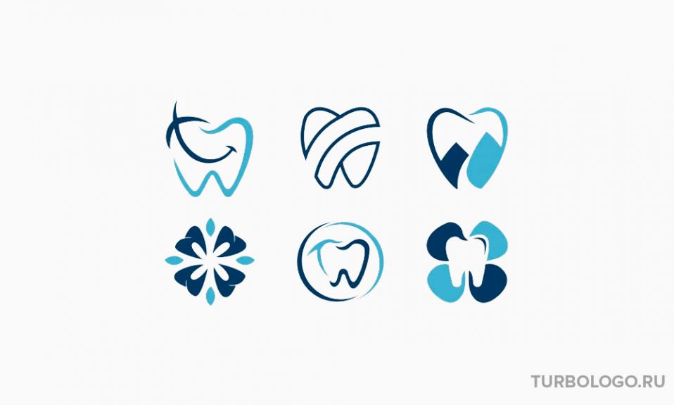 Логотип стоматологии: примеры