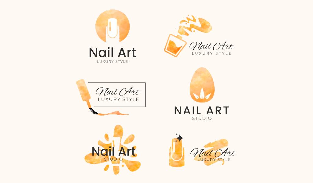 Логотип маникюрного салона: примеры дизайна