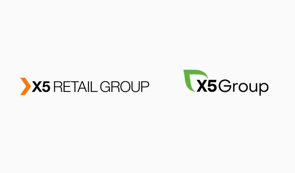 Смена логотипа X5 Retail Group