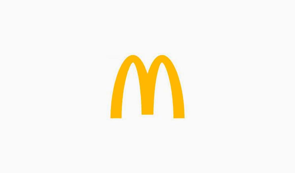 Логотип McDonalds 2003