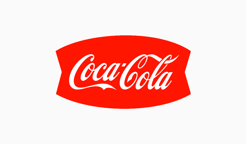 Логотип Кока-Кола 1950