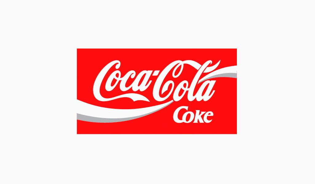 Логотип Кока-Кола 1987