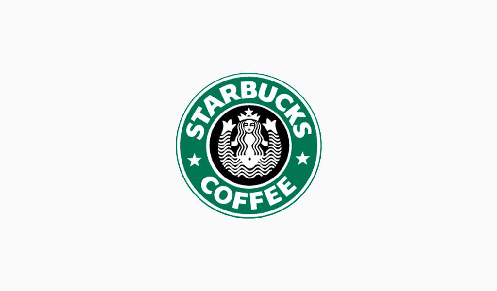 Логотип Старбакс 1987