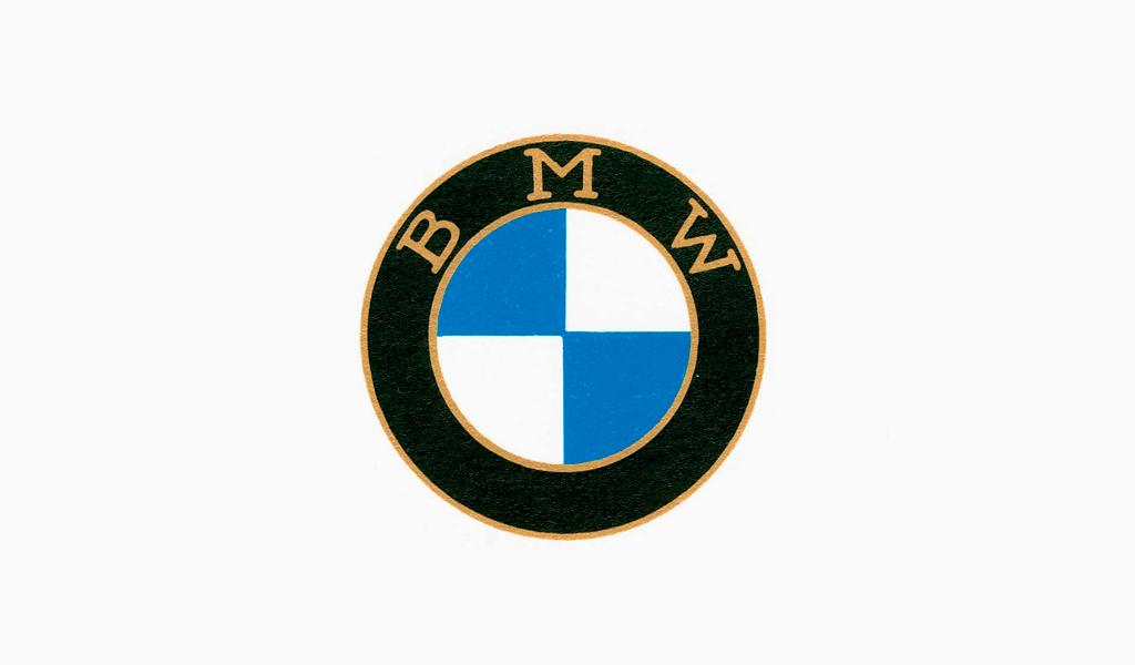 Логотип БМВ 1917