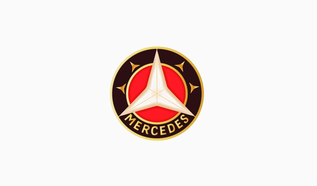 Логотип Мерседес 1916