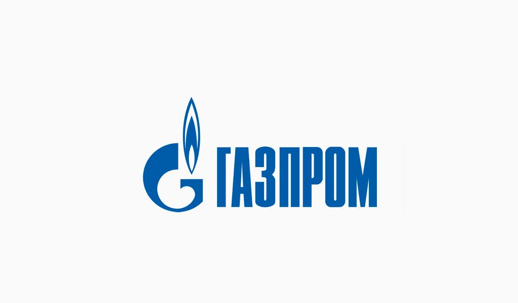 Логотип Газпром 1990