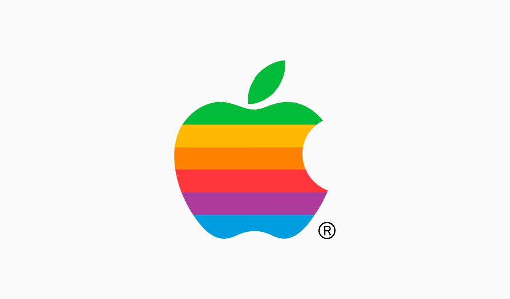 Второй логотип Apple: 1977
