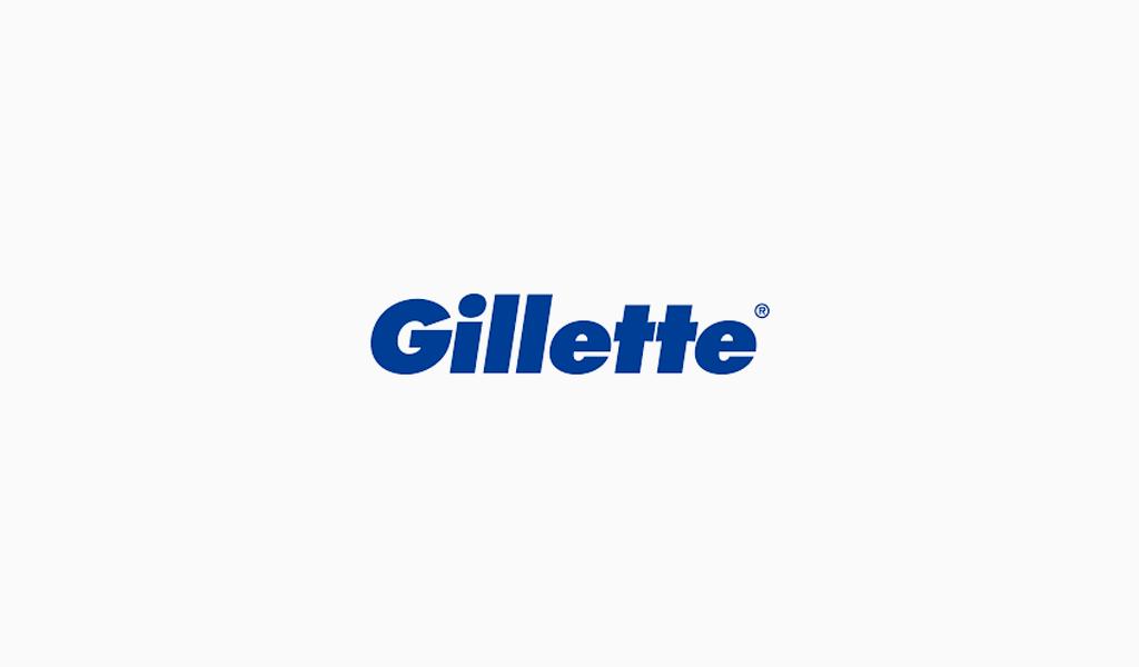 Логотип Gillette
