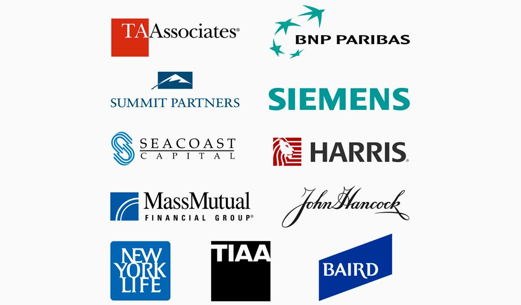 Логотипы финансовых компаний